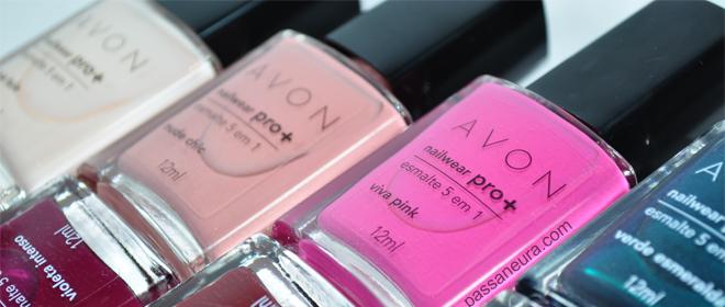 Nailwear Pro+ Esmaltes 5 em 1 da Avon slide