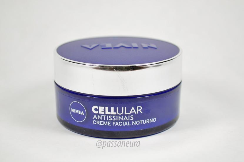 Nivea Cellular Antissinais creme facial noturno